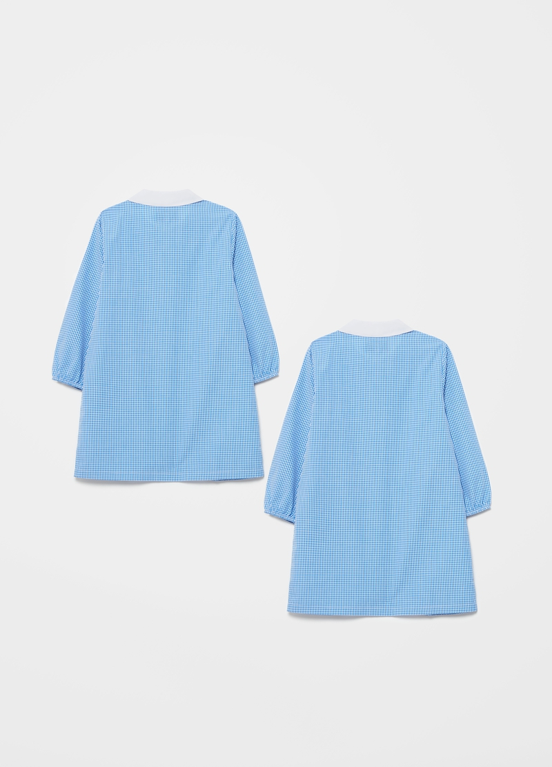 Two-pack smocks with check pattern image number null