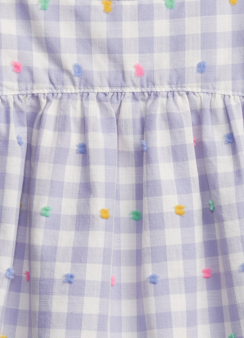 GAP shirt with Vichy pattern image number null
