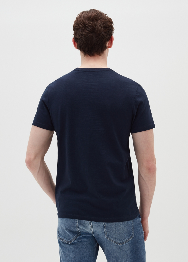 T-shirt in cotone con stampa paesaggio image number null