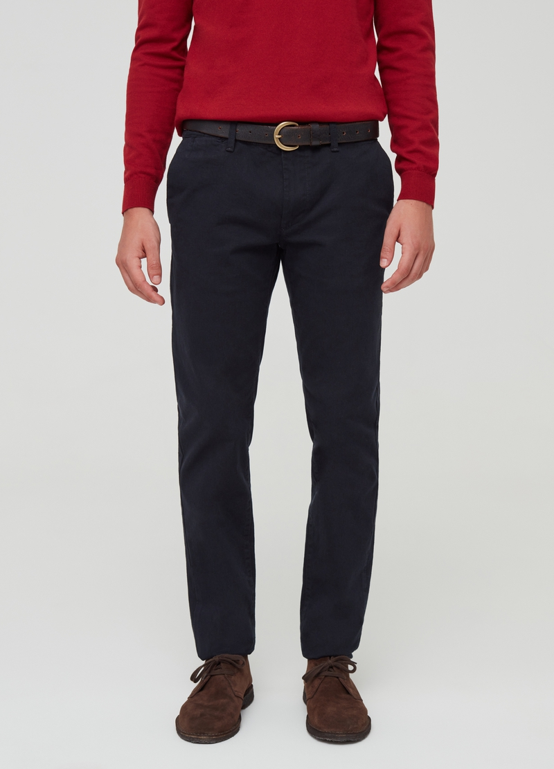 Stretch cotton chinos image number null