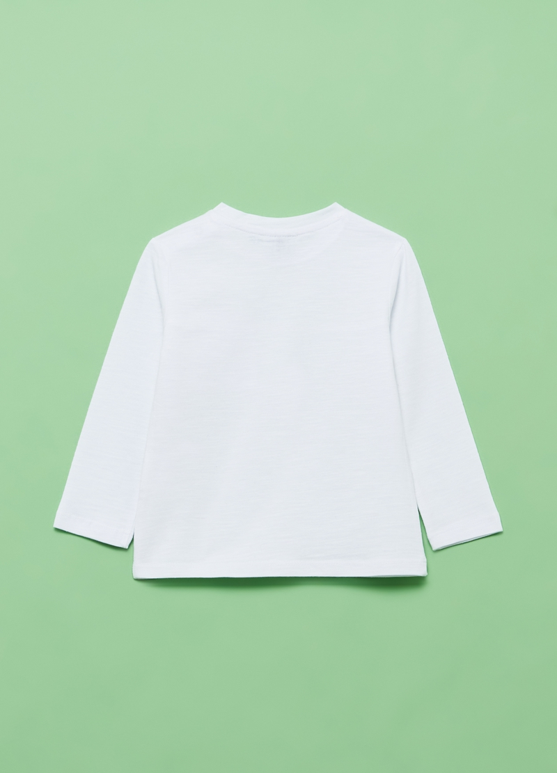 100% organic club cotton T-shirt with small pocket image number null