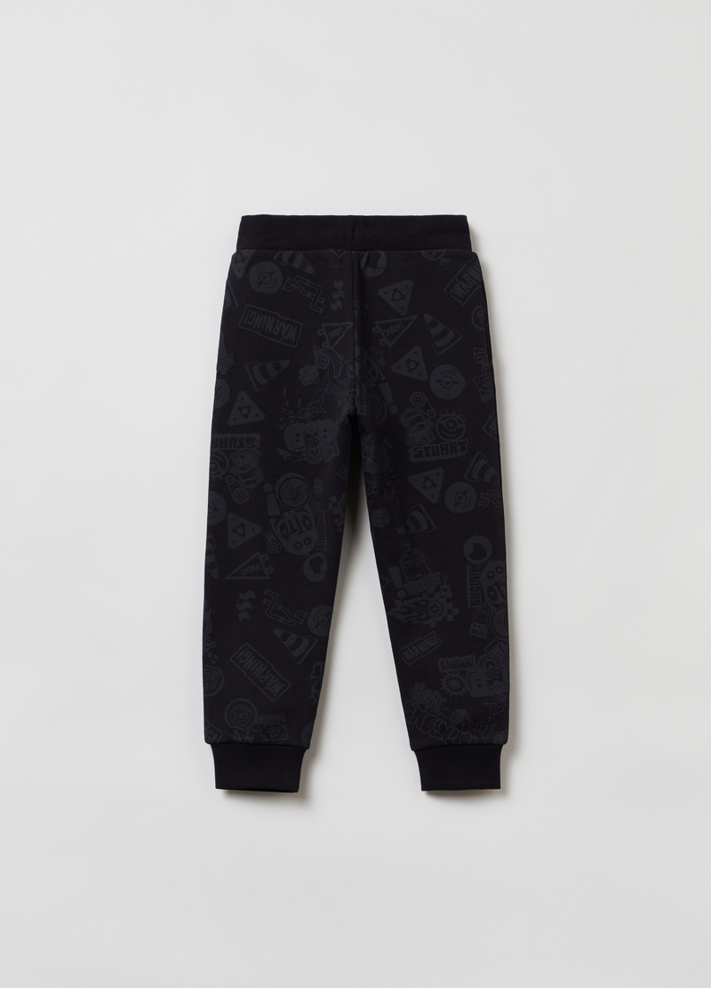 Joggers con stampa Minions all-over image number null