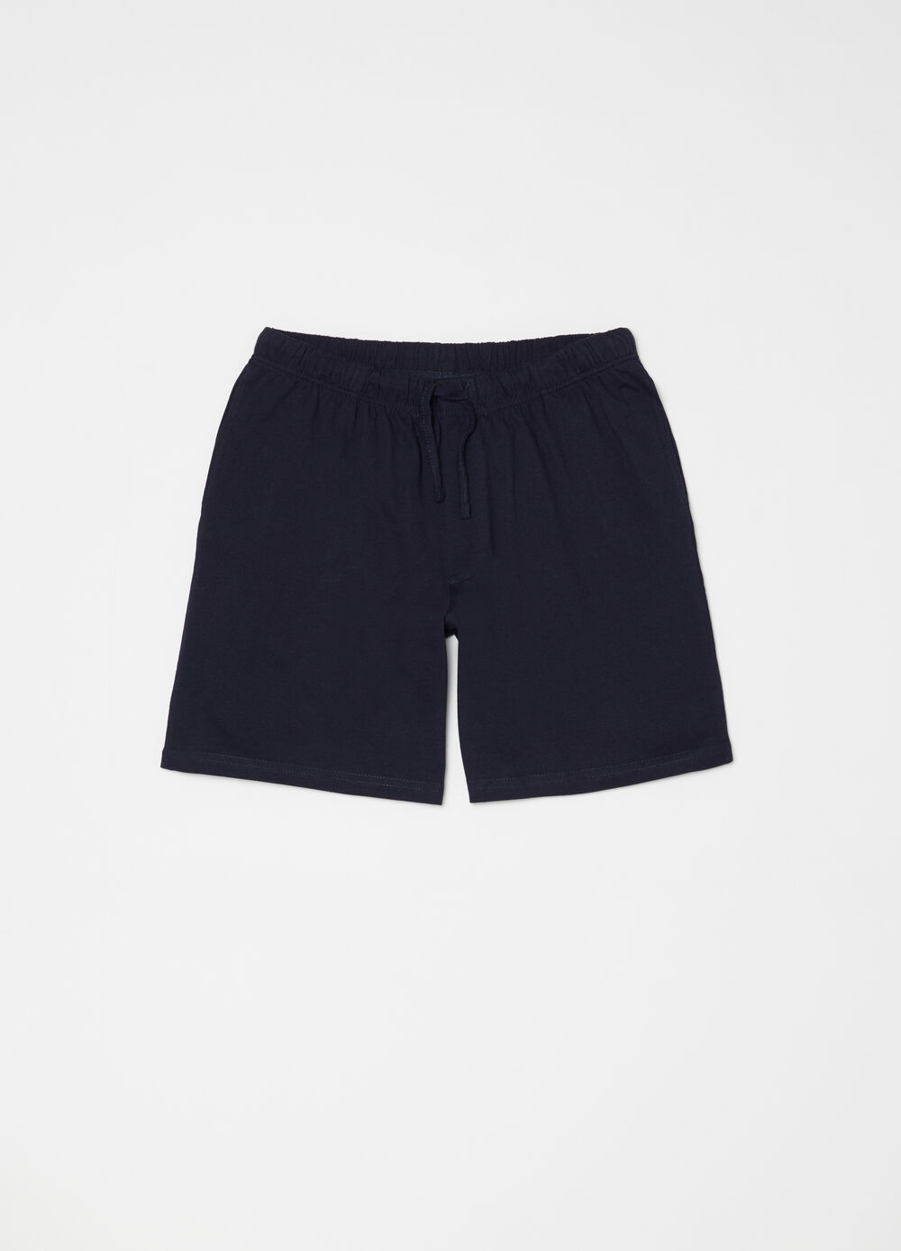 Pyjama shorts with welt pockets
