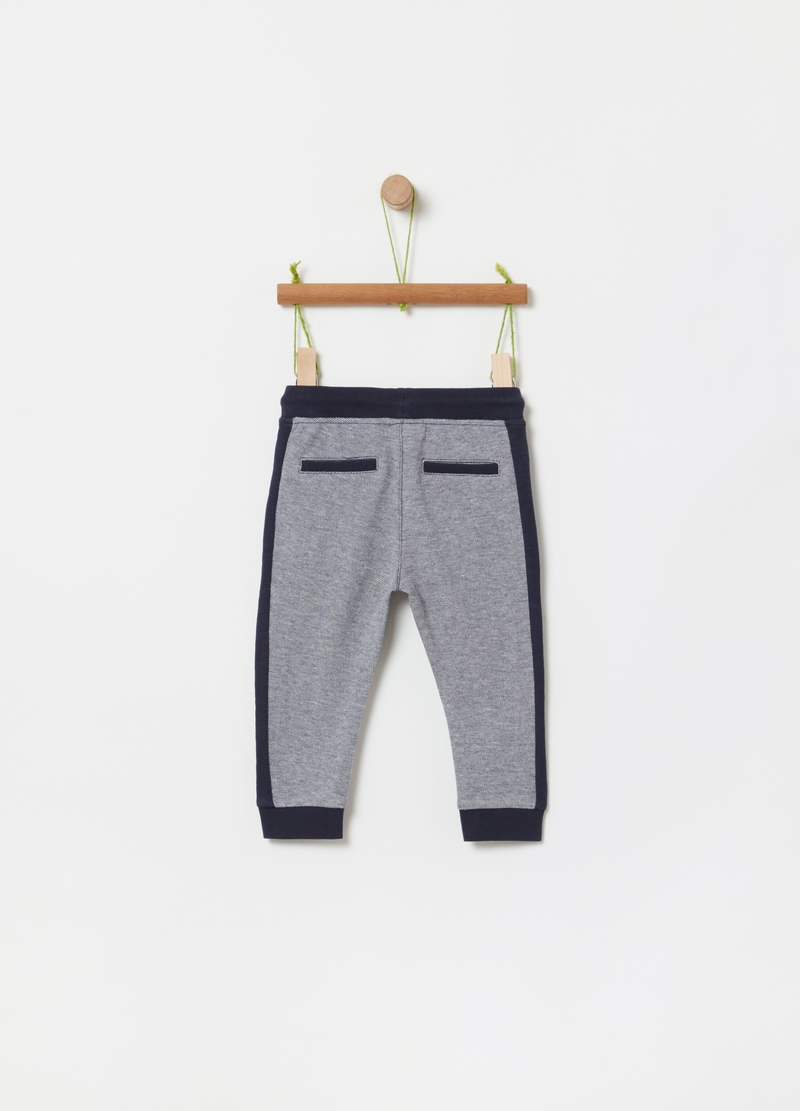 Jogger trousers with drawstring image number null
