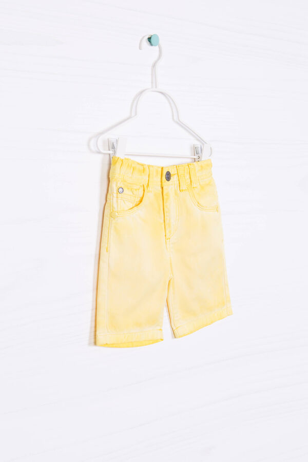 100% cotton misdyed shorts | OVS