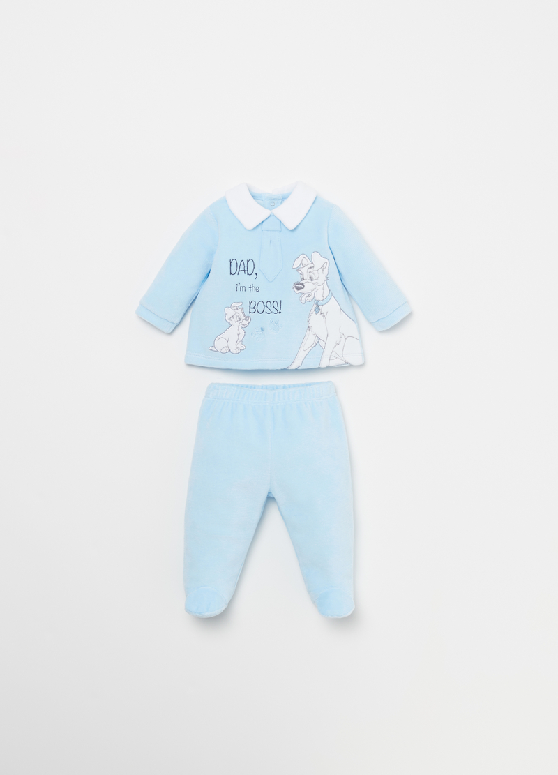 Disney Baby T-shirt and trousers outfit image number null