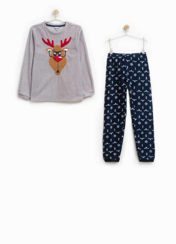 Raindeer and snowflake pyjamas