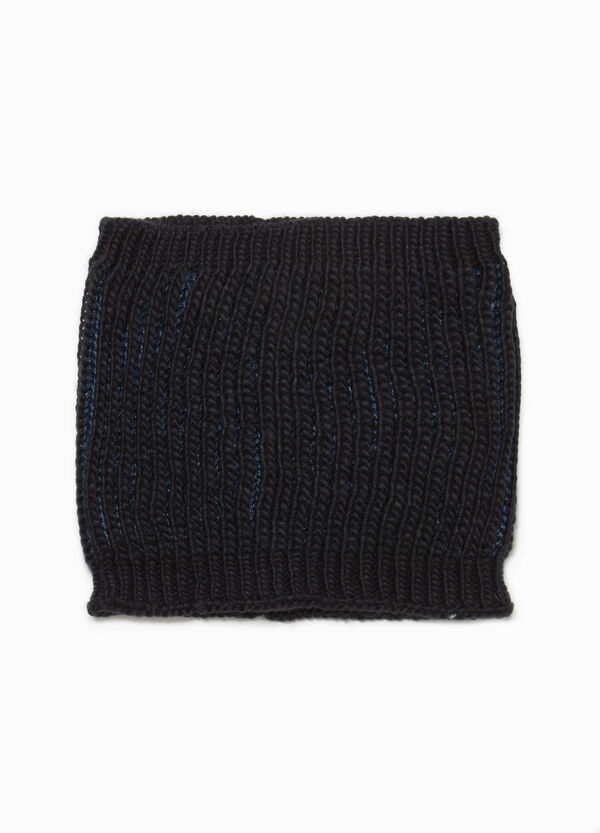 Knitted glitter neck warmer | OVS