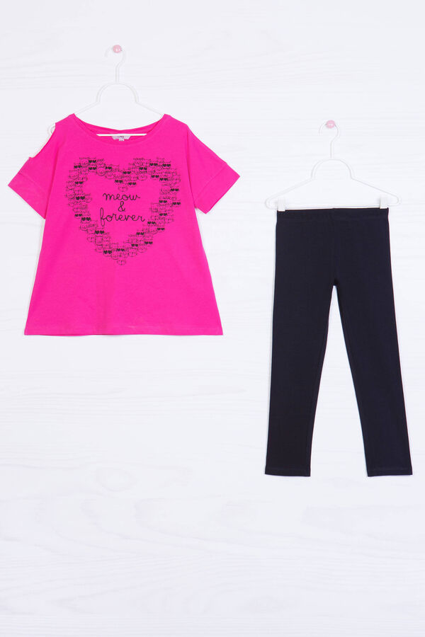 Printed outfit in 100% cotton   OVS