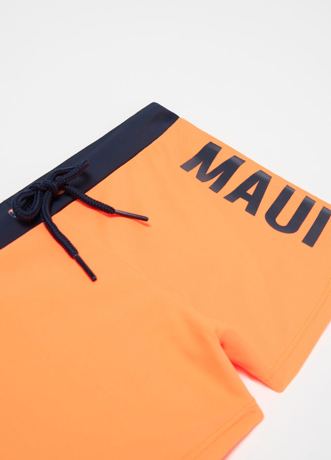 Two-tone swim boxer shorts by Maui and Sons