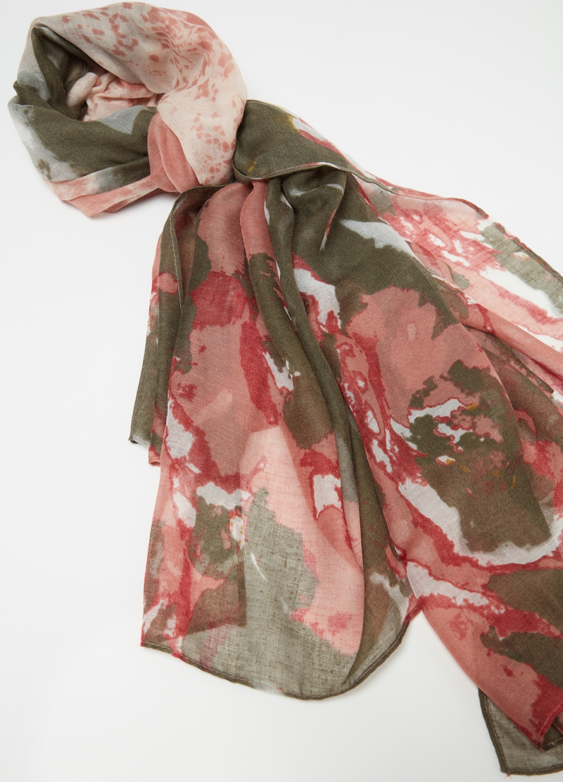 Abstract patterned pashmina image number null