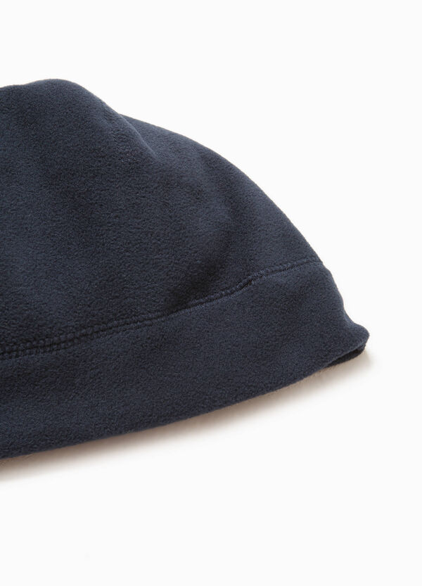 Cappello a cuffia in pile