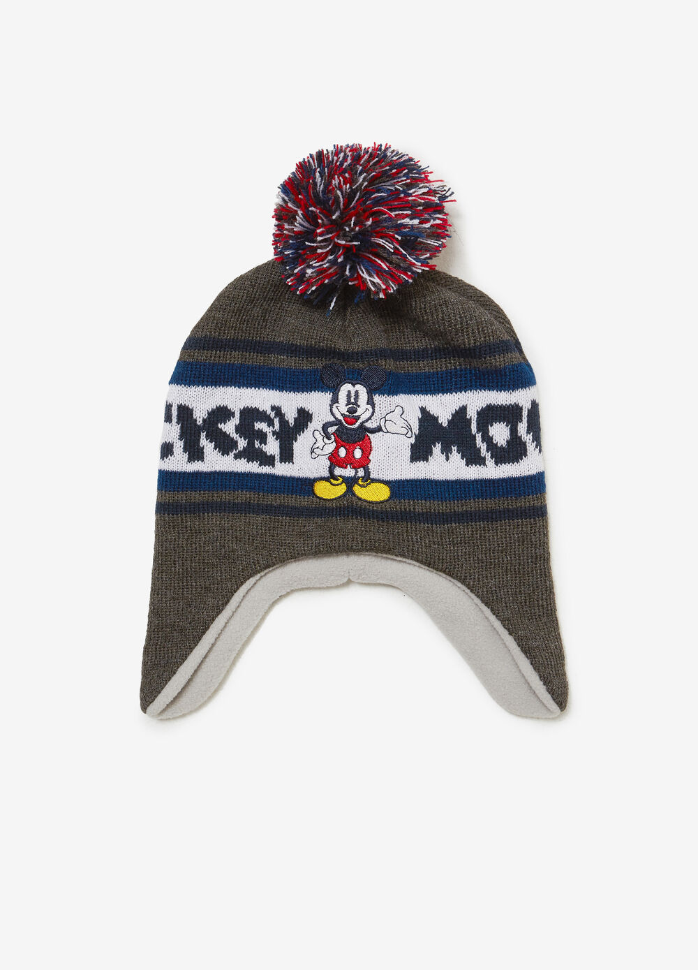 Mickey Mouse hat with ear flaps