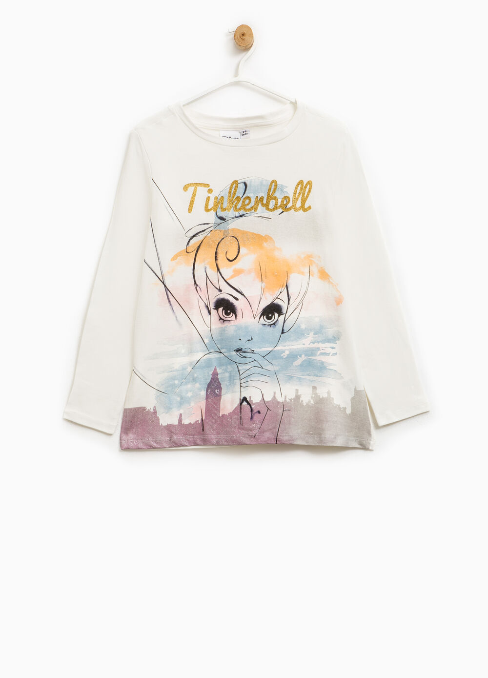 Tinkerbell T-shirt in stretch cotton