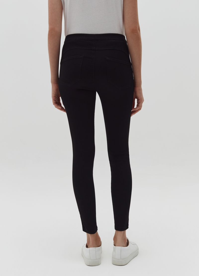 Stretch jeggings image number null