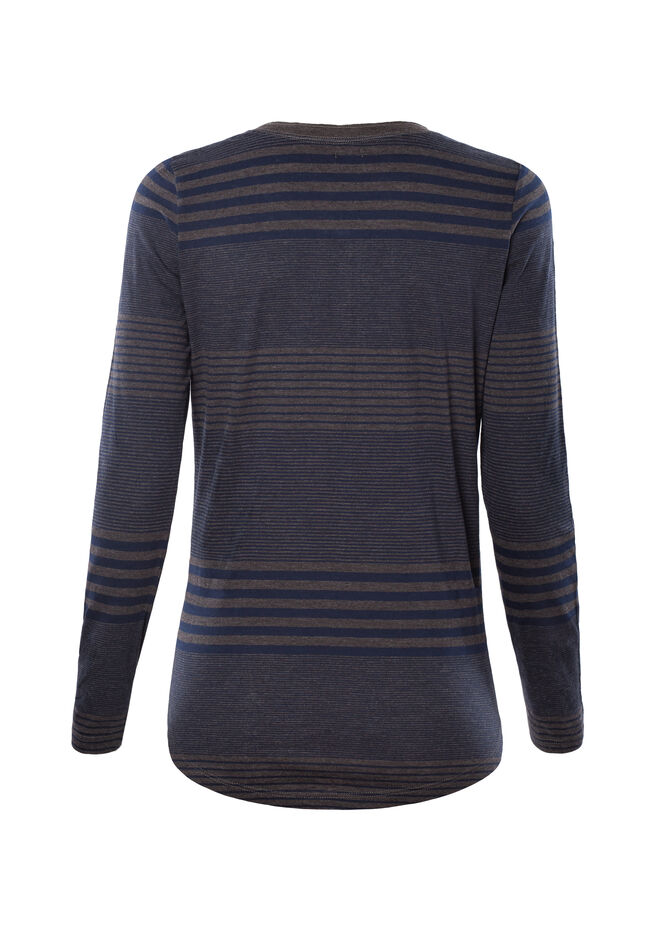 Smart Basic striped T-shirt in 100% cotton