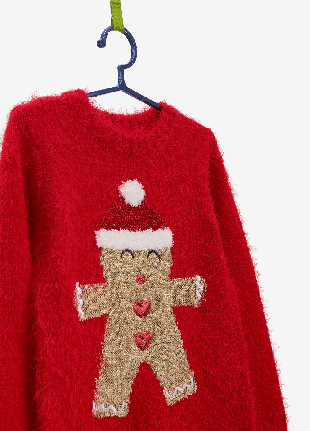 Gingerbread man Christmas sweater
