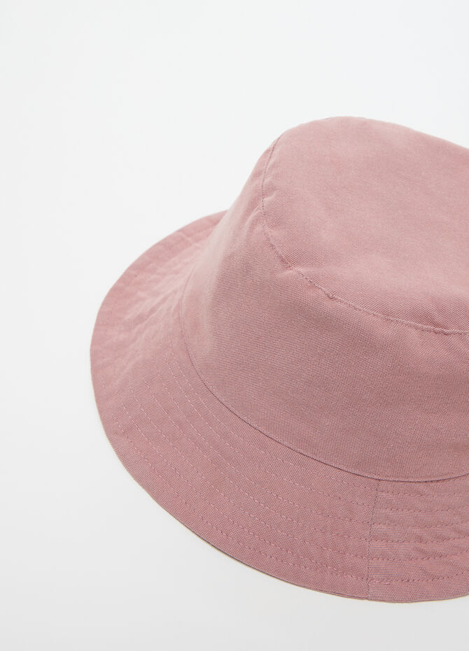 Denim-effect bucket hat