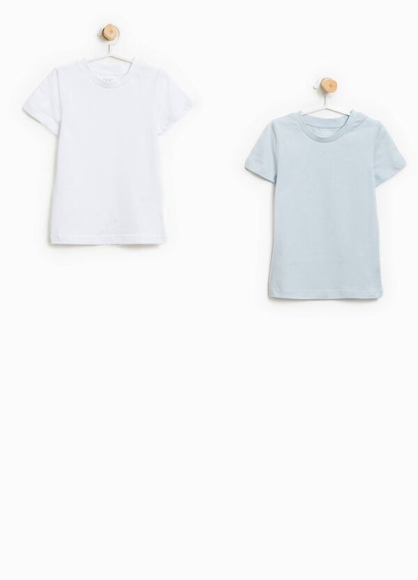 Two-pack organic cotton undershirts | OVS