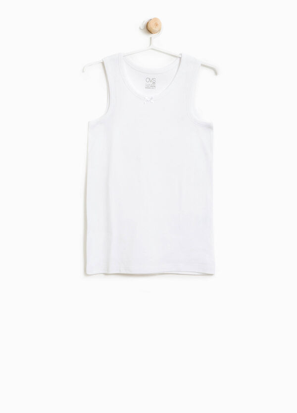 100% organic cotton under vest. | OVS