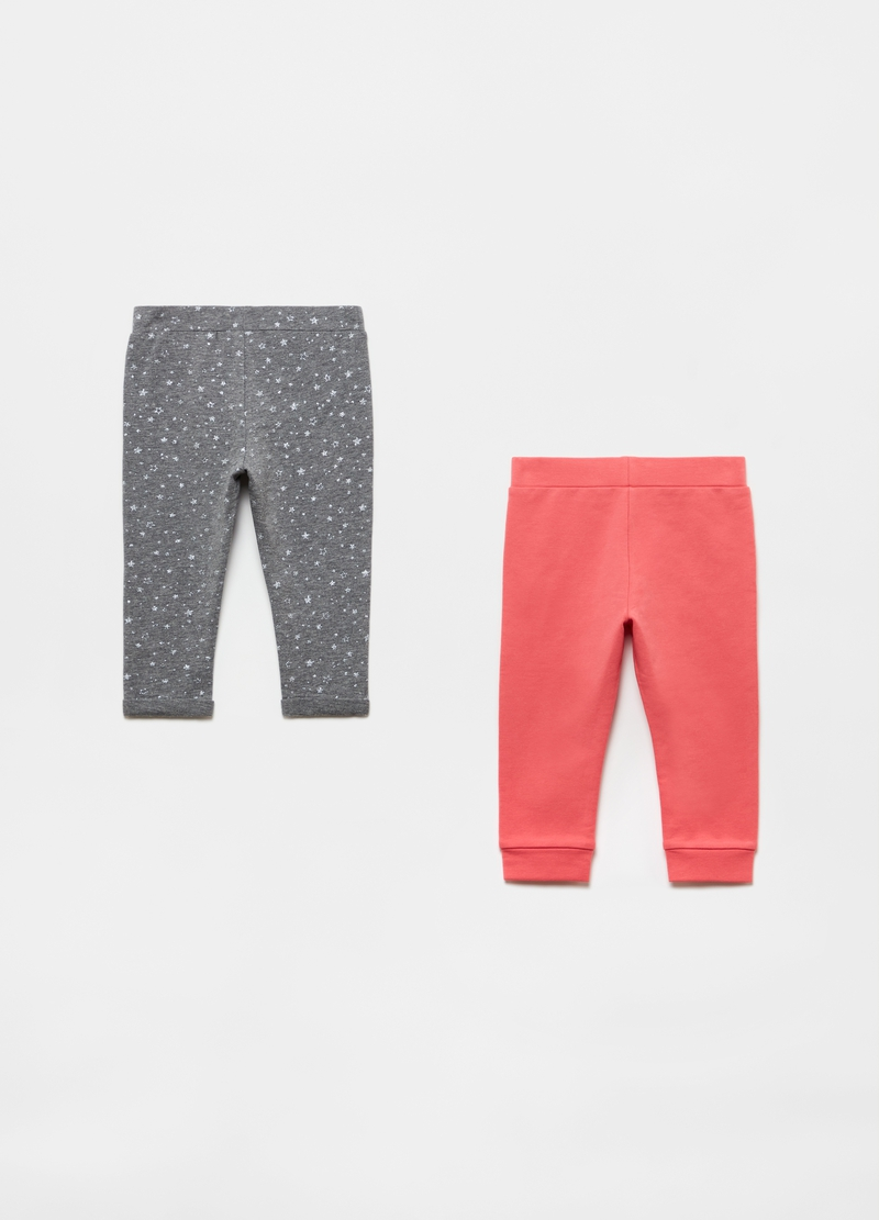 Bipack joggers con cotone bio image number null