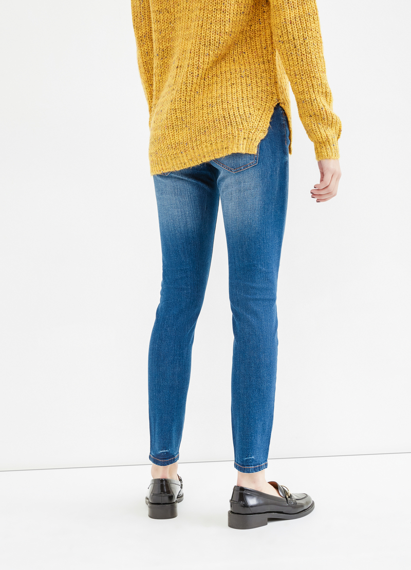 Jeans skinny fit con strappi image number null