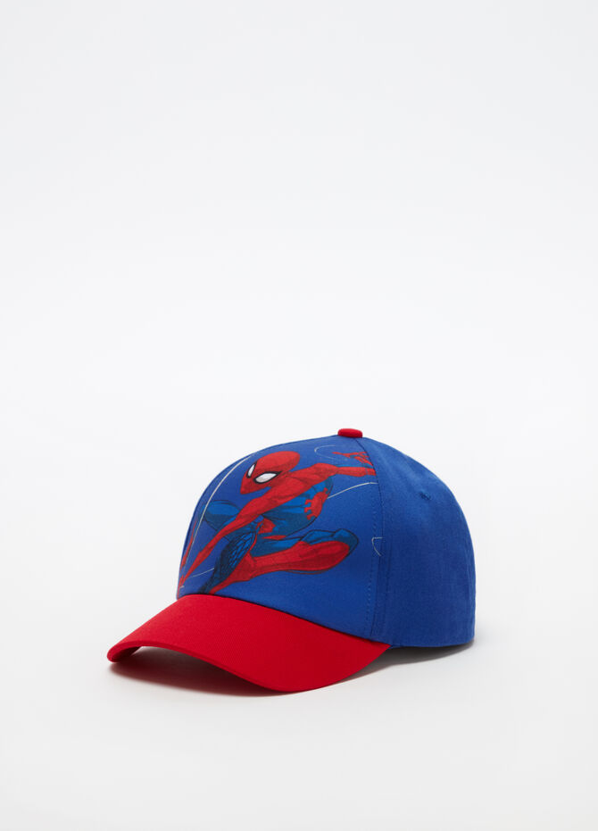 Marvel Spider-Man hat with maxi print