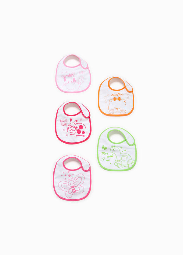Five-pack bibs with animals print | OVS