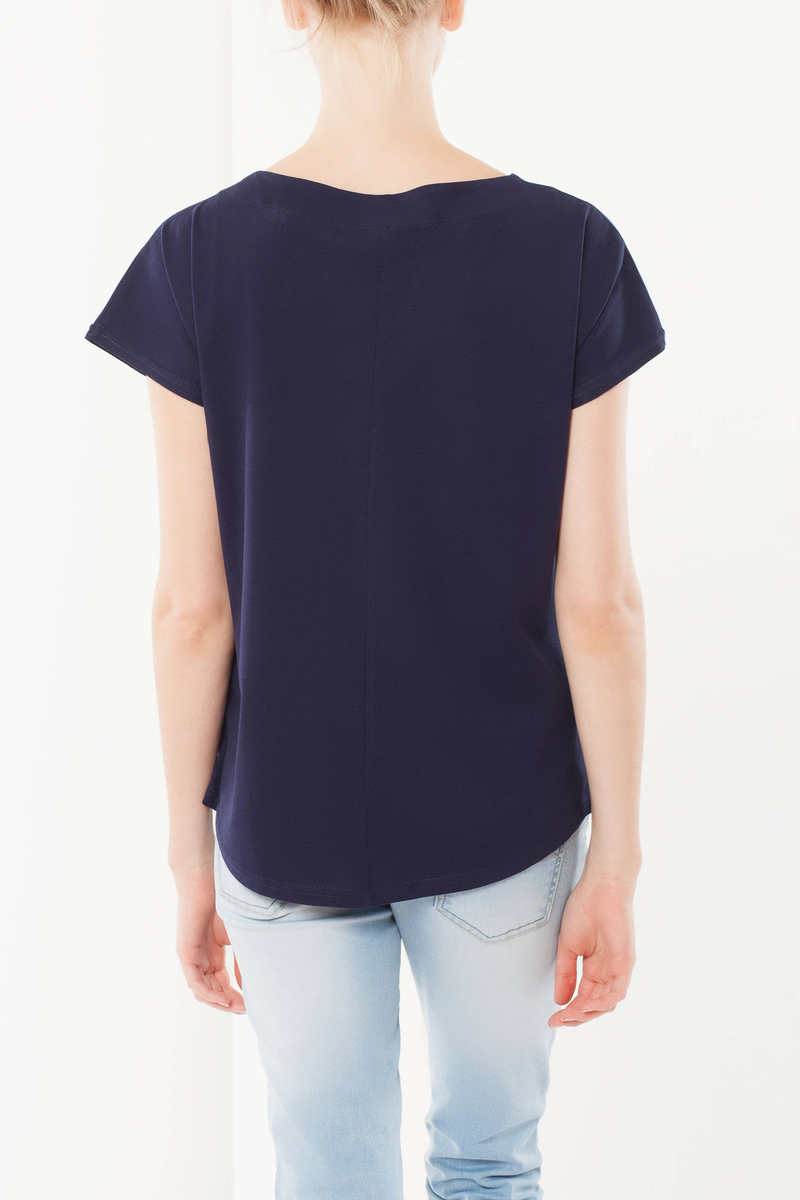 T-shirt con bottoncini image number null