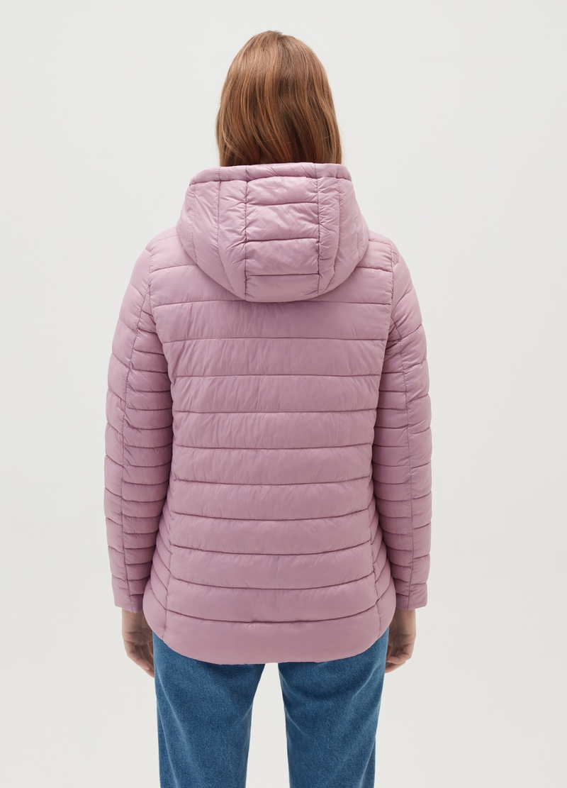 Ultralight down jacket with hood and drawstring image number null