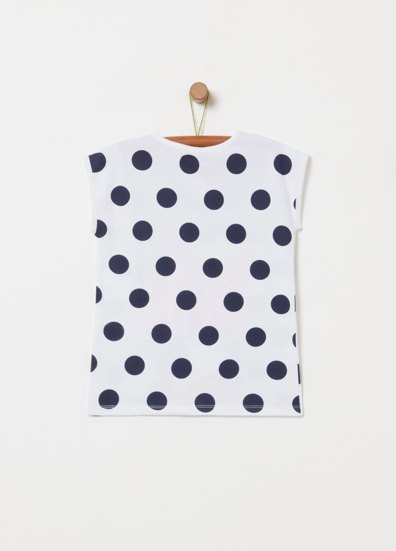 T-shirt a pois Disney Paperina image number null