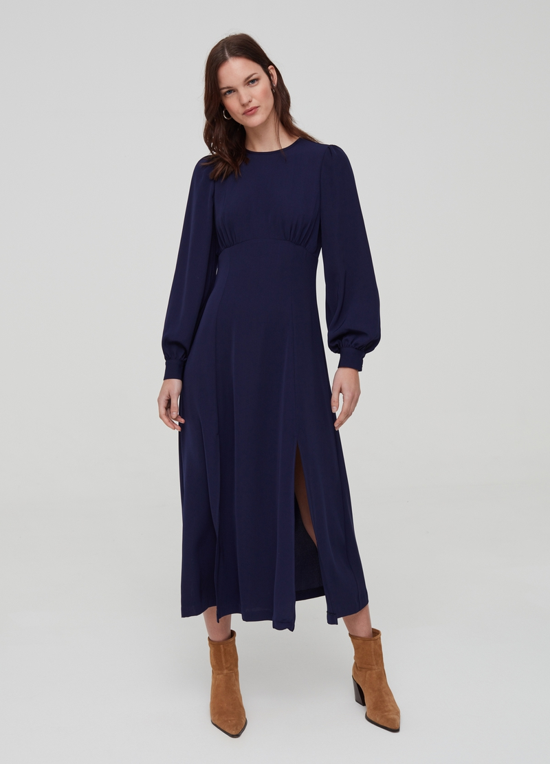 Long dress with side split image number null