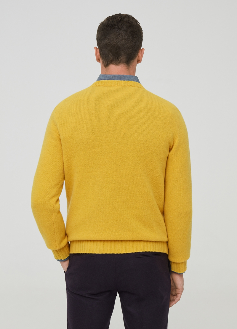 PIOMBO Pullover in pura lana lambswool image number null