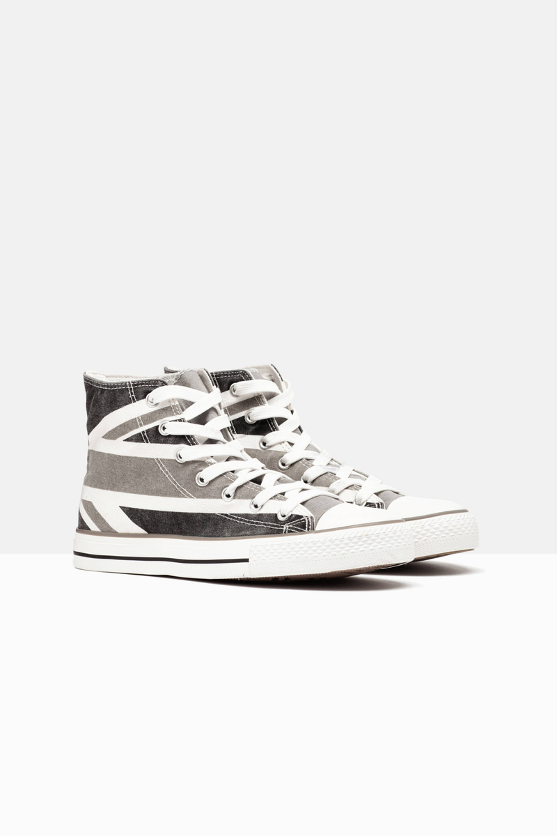 Sneakers alte con lacci image number null