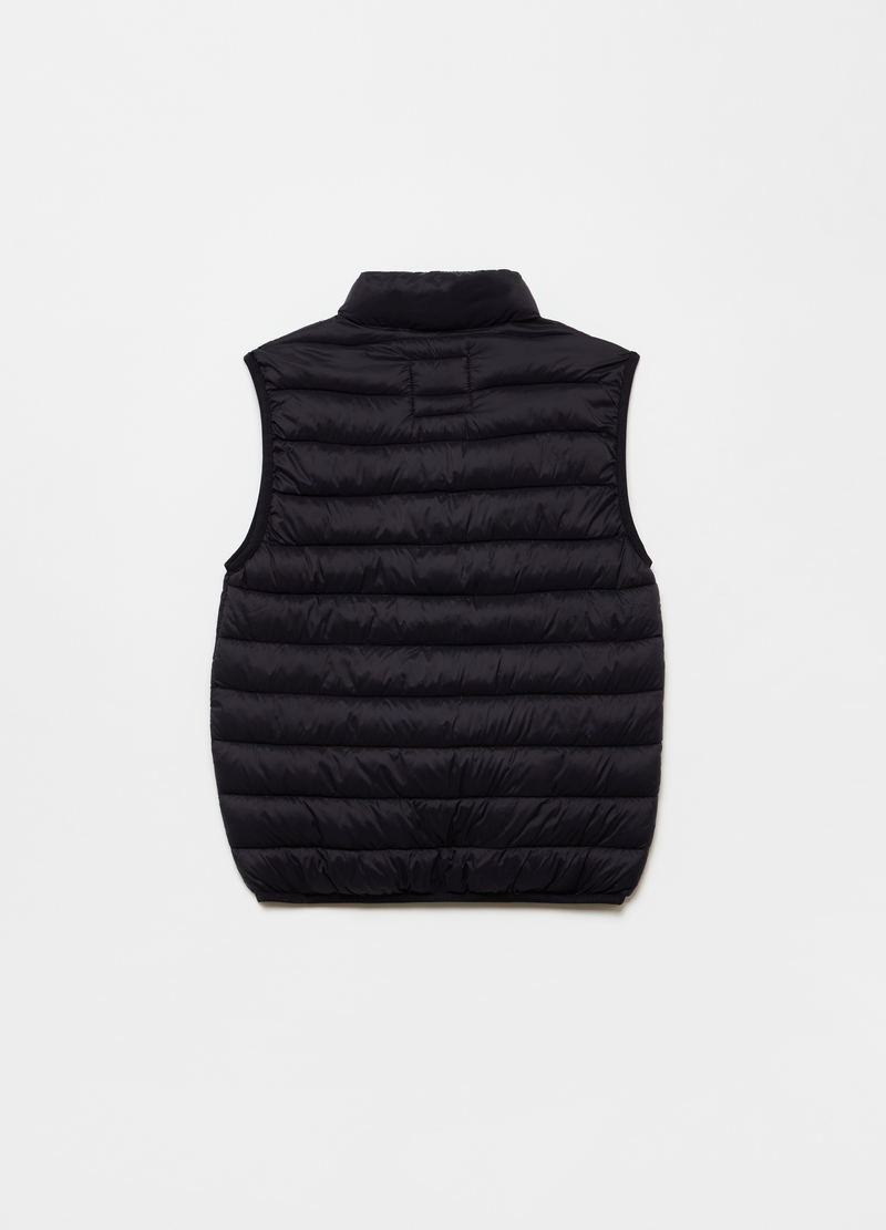 Ultralight gilet with high neck image number null