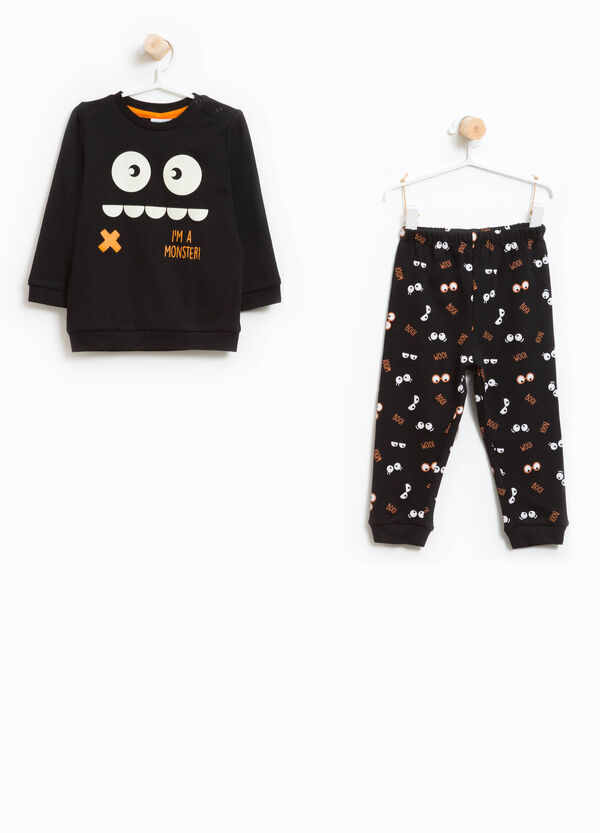 Cotton pyjamas with print | OVS