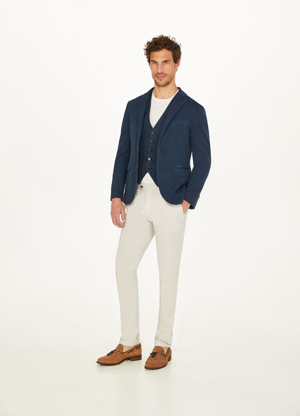 Rumford stretch cotton jacket