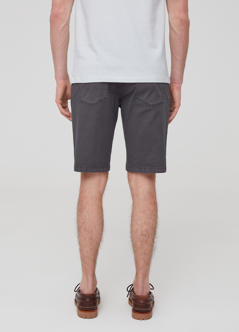 Slim-fit Bermuda shorts with belt image number null