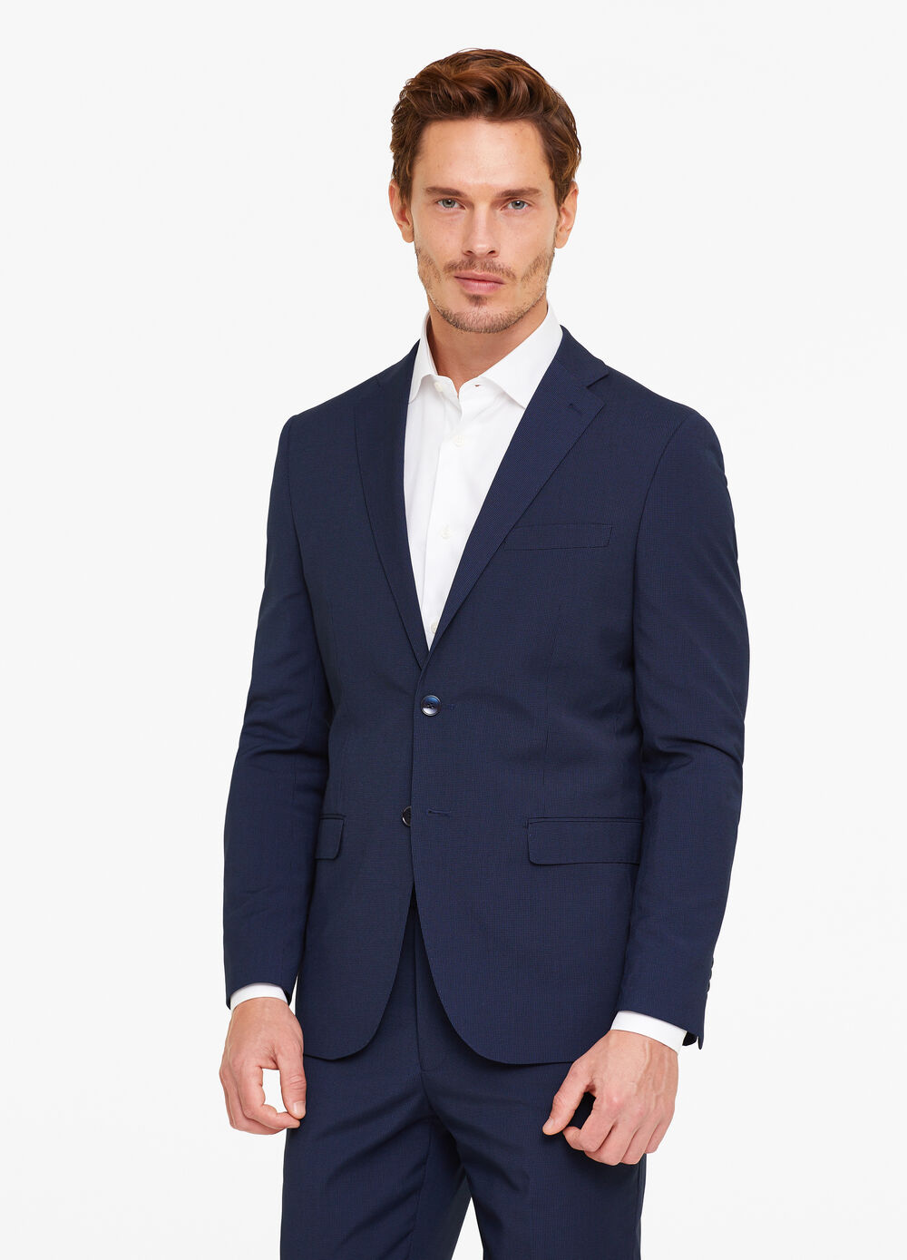 Regular-fit elegant jacket