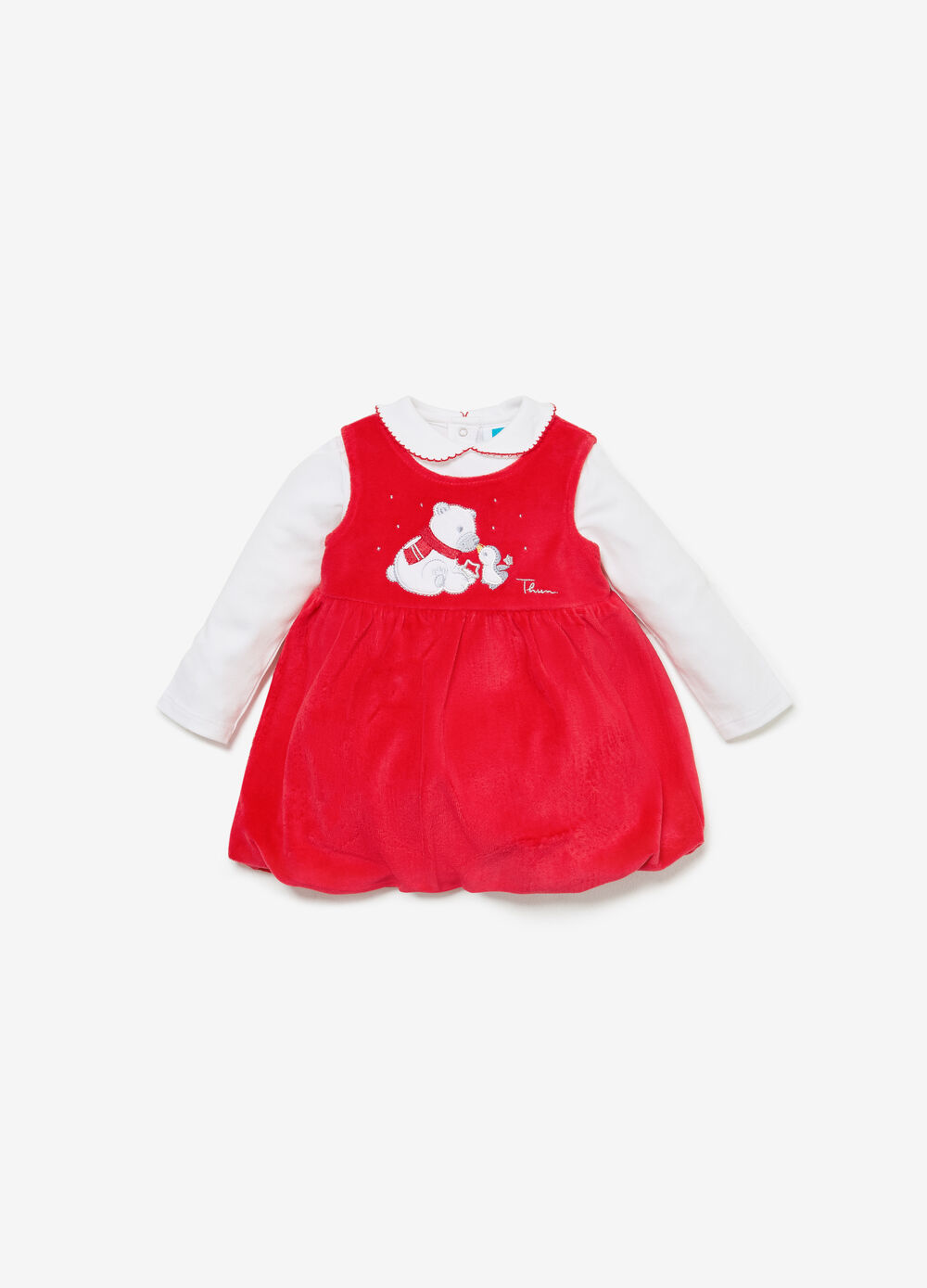 THUN polar bear organic cotton outfit
