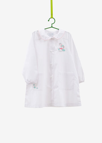 Smock with unicorn and stars patch