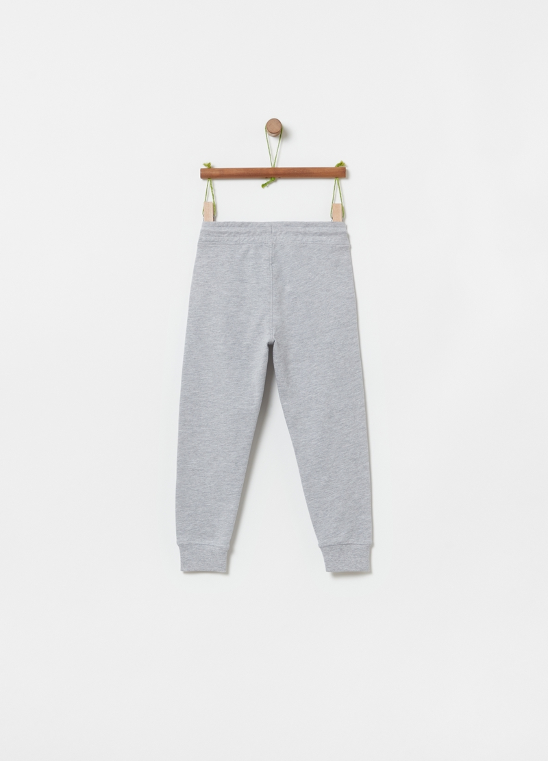 Jogger in French Terry cotone e viscosa image number null