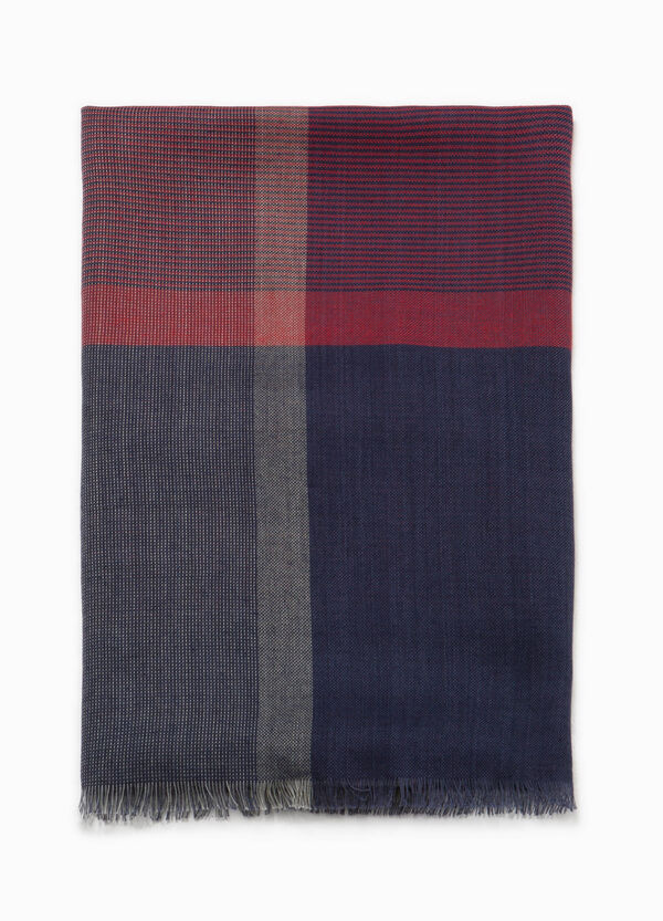 Checked cotton pashmina | OVS