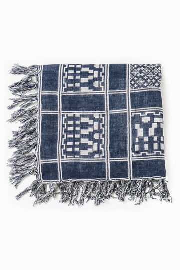 Jacquard viscose keffiyeh with pattern