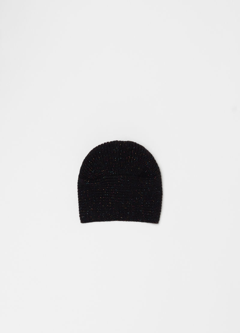 Turbante con lurex tricot image number null