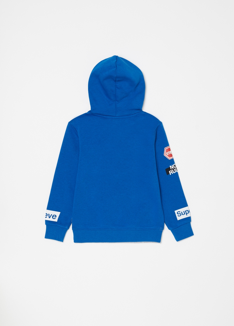 Hooded sweatshirt with pocket image number null