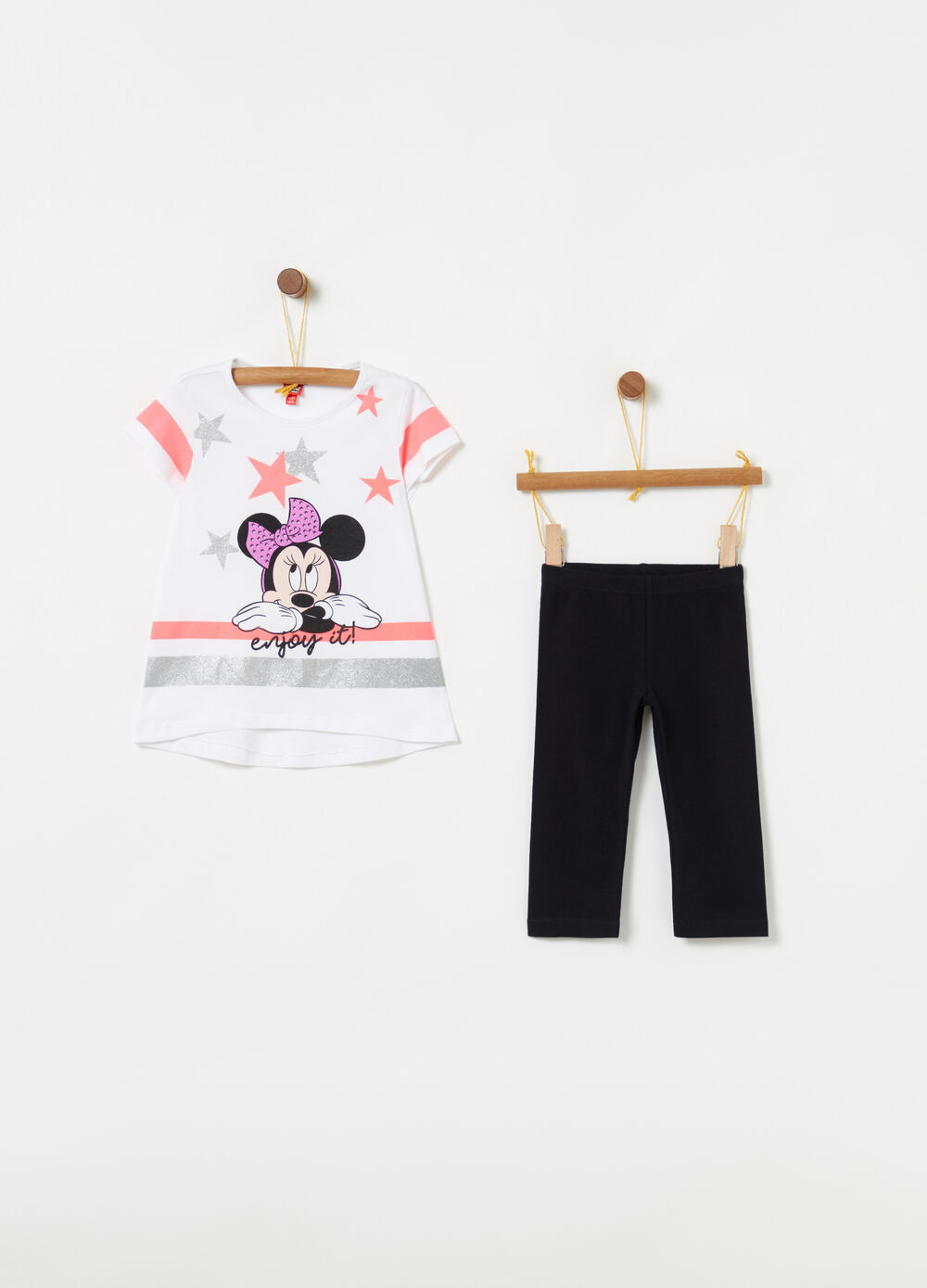 Jogging set t-shirt leggings Disney Minnie