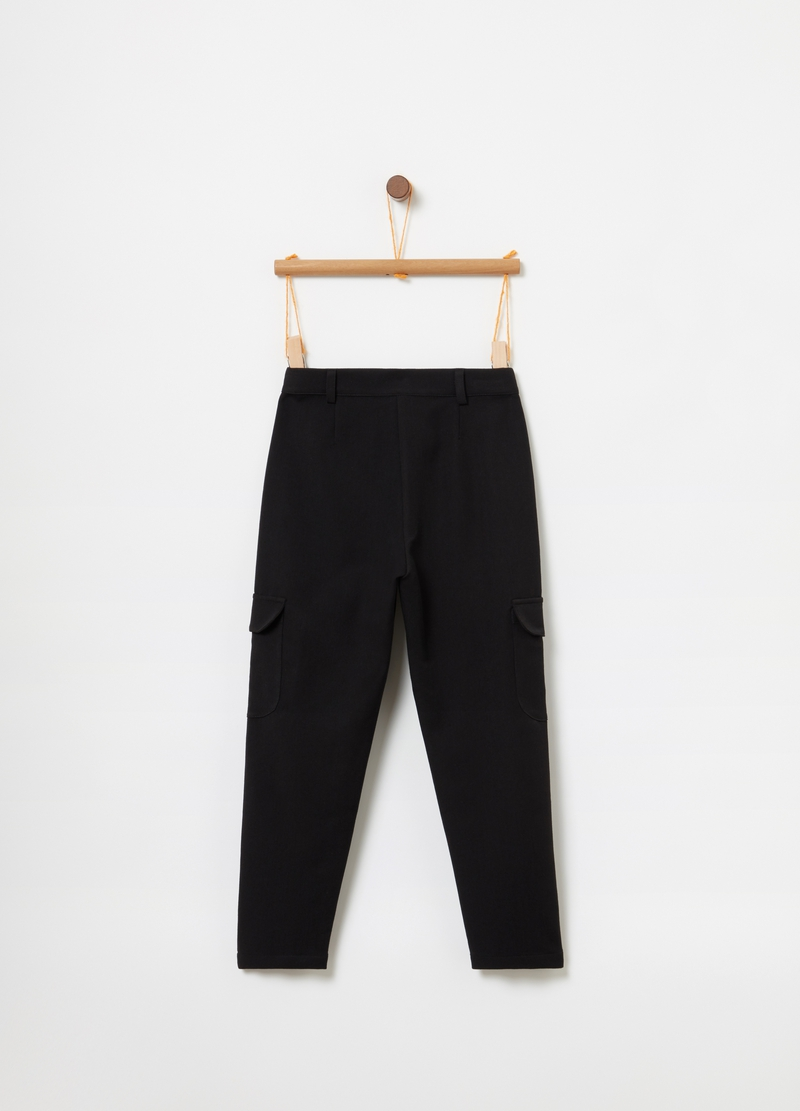 OVS Premium trousers with pockets image number null