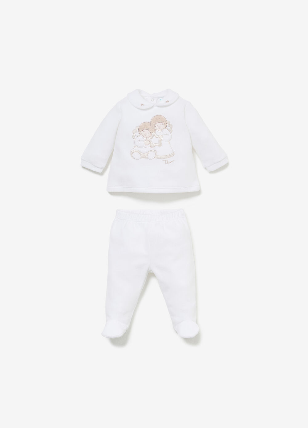 THUN Angels T-shirt and baby leggings set