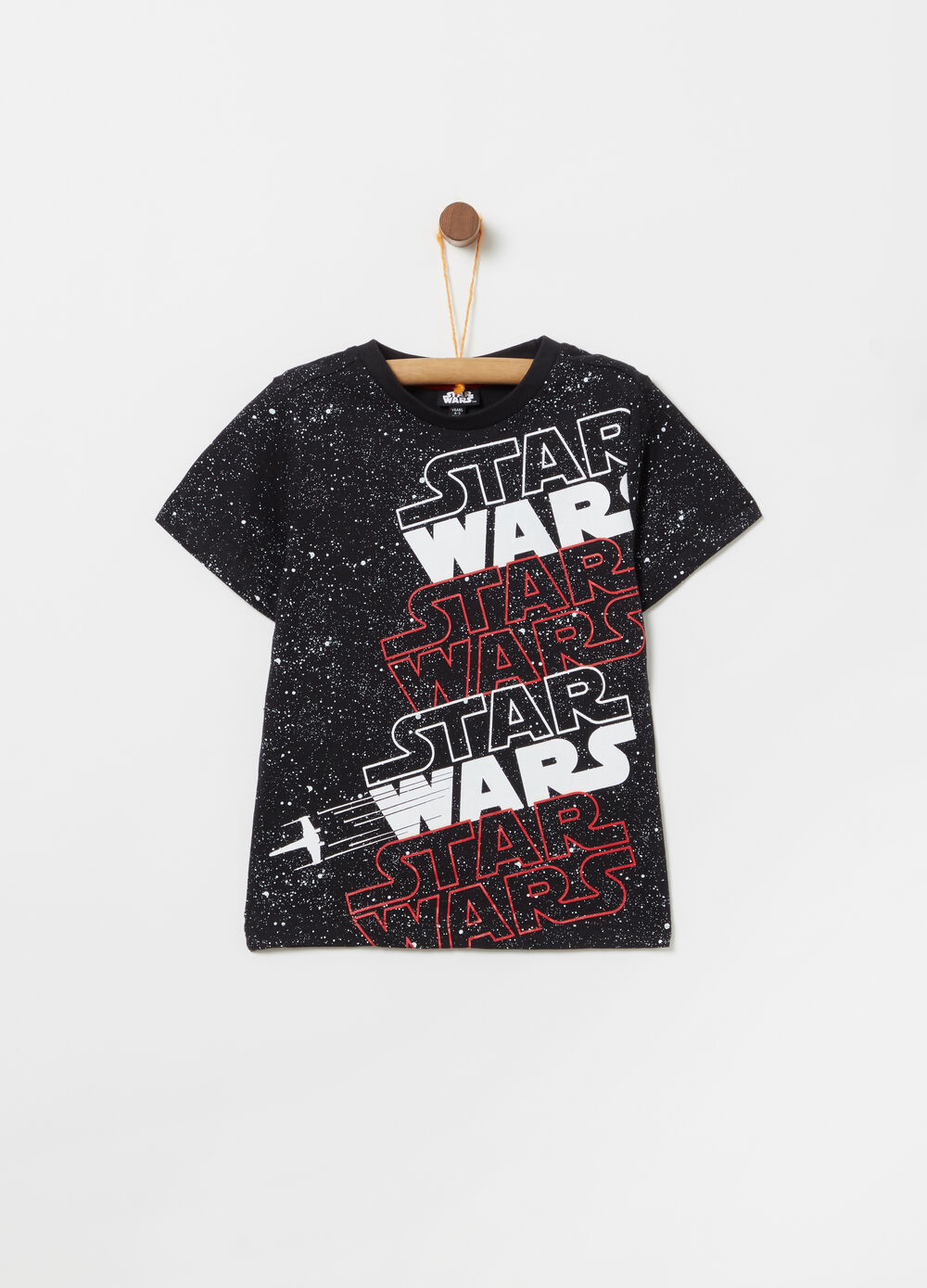 T-shirt cotone stampa Star Wars